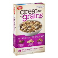 Post Great Grains Raisins, Dates & Pecans Whole Grain Cereal 16oz Box product image