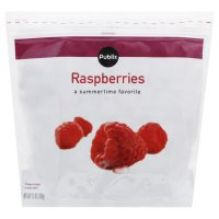 Store Brand Frozen Whole Red Raspberries 12oz Bag product image