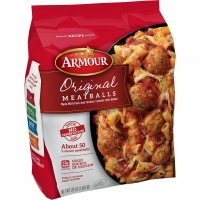 Armour Original Meatballs 25oz Bag product image