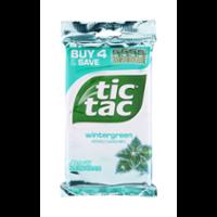 Tic Tac Wintergreen Big Pack 4PK 1oz EA 4oz PKG product image
