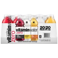 Glaceau Vitamin Water Zero Variety Pack 20CT of 20oz BTL product image