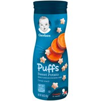 Gerber Puffs Sweet Potato 1.48oz PKG product image