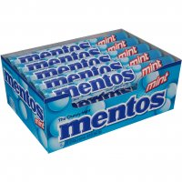 Mentos Chewy Mint Candy Mint Flavor 15 Roll Pack 1.32oz EA Roll product image