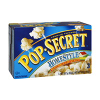 Pop-Secret Microwave Popcorn Homestyle 3CT of 3.2oz Bags product image