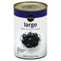 Store Brand Olives Large Pitted 6oz Can product image