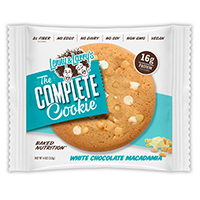 Lenny & Larry's The Complete Cookie White Chocolate Macadamia 4oz PKG product image