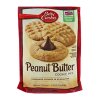 Betty Crocker Cookie Mix Peanut Butter 17.5oz PKG product image