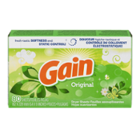 Gain Fabric Softener Sheets Original Fresh Scent 120CT product image
