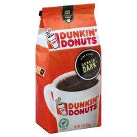 Dunkin Donuts Coffee Ground Dark Roast 11oz Bag product image