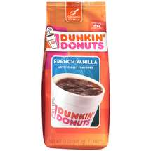 Dunkin Donuts Coffee Ground French Vanilla 12oz Bag product image