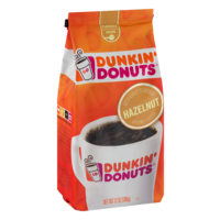 Dunkin Donuts Coffee Hazelnut Artificially Flavored 12oz Bag product image