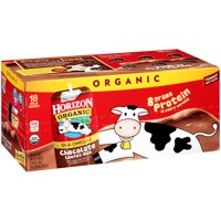 Horizon Organic Chocolate Milk Lowfat 18CT of 8oz Boxes product image