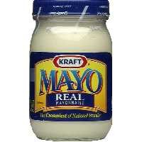 Kraft Real Mayonnaise 15oz Jar product image