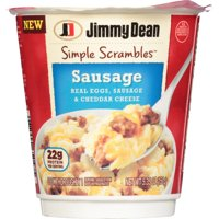 Jimmy Dean Simple Scrambles Sausage 5.35oz Cup product image
