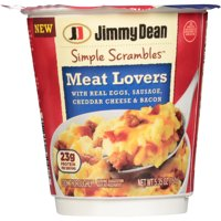 Jimmy Dean Simple Scrambles Meat Lovers 5.35oz Cup product image