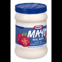 Kraft Real Mayonnaise 30oz. Jar product image
