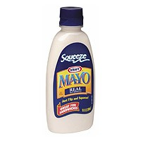 Kraft Real Mayonnaise Squeeze 12oz BTL product image