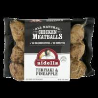 Aidells Chicken Meatballs Teriyaki & Pineapple 12oz PKG product image