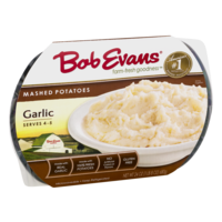 Bob Evans Side Dishes Garlic Mashed Poatoes 24oz PKG product image
