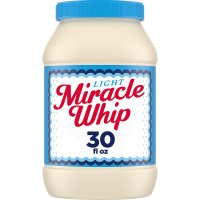 Kraft Miracle Whip Light Dressing 30oz Jar product image