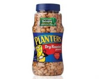 Planters Peanuts Dry Roasted 16oz Jar product image