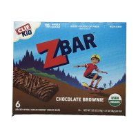 Clif Kid Organic Z Bar Chocolate Brownie 6CT 7.62oz PKG product image