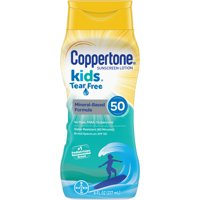 Coppertone Kids Tear Free Lotion SPF 50 Sunblock 8oz BTL product image