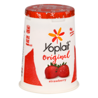 Yoplait Original Yogurt Lowfat Strawberry 6oz Cup product image