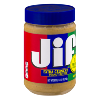 Jif Extra Crunchy Peanut Butter 28oz Jar product image