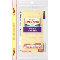 Land O Lakes Sliced Swiss Cheese Deli Thin 8CT 6oz PKG product image