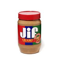 Jif Creamy Peanut Butter 40oz Jar product image