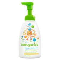 Babyganics Shampoo + Body Wash Fragrance Free 16oz Pump BTL product image