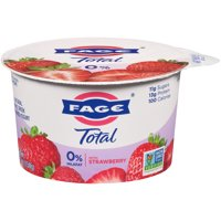 Fage Total 0% Greek Strained Yogurt with Strawberry 5.3oz product image