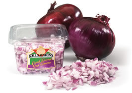 Diced Red Onions 8oz PKg product image