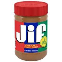 Jif Creamy Peanut Butter 28oz Jar product image