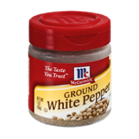 McCormick Ground White Pepper 1oz BTL product image