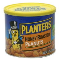 Planters Honey Roasted Peanuts 12 oz product image