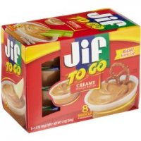 Jif To Go Creamy Peanut Butter  8Pk 12oz PKG product image