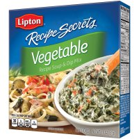 Lipton Recipe Secrets Vegetable Soup and Dip Mix 2Ct 1.8oz Box product image