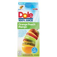 Dole 100% Orange Peach Mango Juice 59oz CTN product image