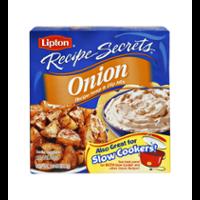 Lipton Recipe Secrets Onion Soup Mix 2CT 2oz Box product image