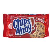 Nabisco Chips Ahoy Chewy Chocolate Chip Cookies 13oz PKG product image