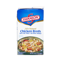 Swanson 100% Natural Chicken Broth 32oz CTN product image