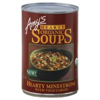 Amy's Hearty Organic Minestrone Soup 14.1oz Can product image