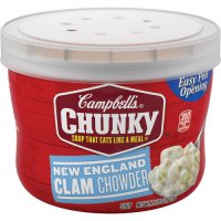 Campbell's Chunky Soup New England Clam Chowder 15.25oz BWL product image