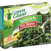 Green Giant Spinach No Sauce 9oz Box product image