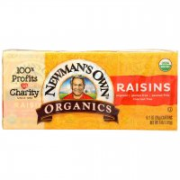 Newman's Own Organic Raisins 6CT PKG 1.5oz EA product image