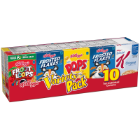 Kellogg's Cereal Variety Pak 10CT 10.94oz PKG product image
