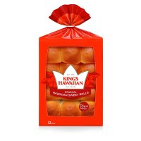King's Hawaiian Original Hawaiian Sweet Bread Rolls 12CT product image