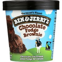 Ben & Jerry's Ice Cream Chocolate Fudge Brownie 1 Pint product image